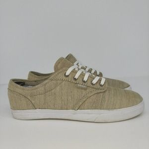 Vans Womens Brown Lace Up Sneaker Shoes Size 7.0